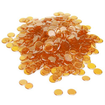 Bingo Chips / Counting Chips - Orange - Pack of 300