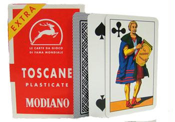 Toscane playing cards