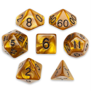 Mountainheart dice set