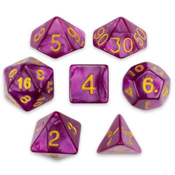 Abyssal Mist dice set