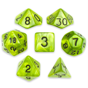 Swamp Ooze dice set