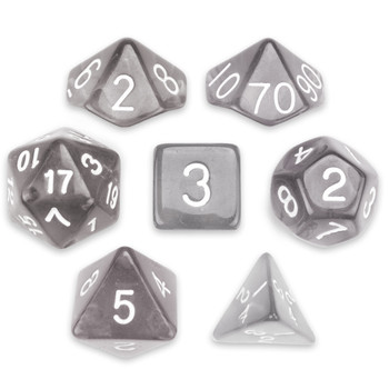 Drowskin dice set