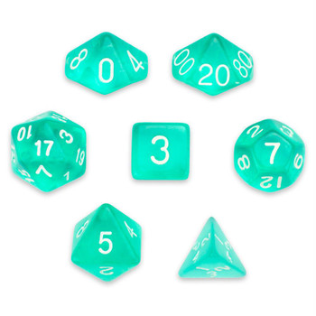Cloud Drop dice set