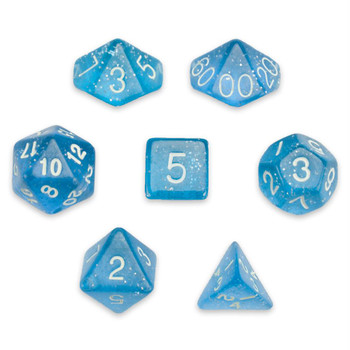Diamond Dust dice set