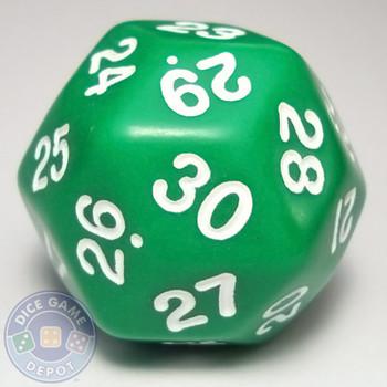 d30 - Opaque Green