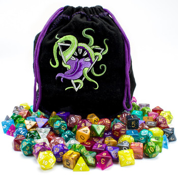 Bag of Devouring - 20 complete dice sets