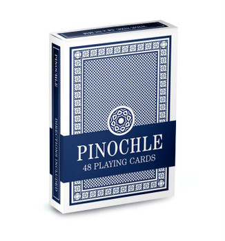 Brybelly Pinochle Playing Cards - Blue