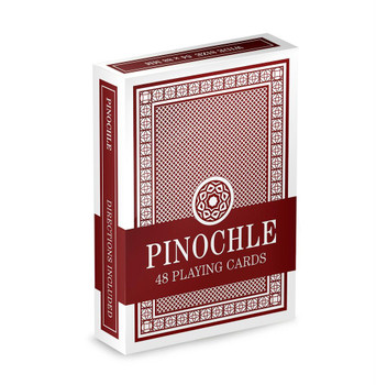 Brybelly Pinochle Playing Cards - Red