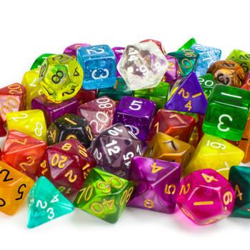 Pack of 100+ Random Polyhedral Dice, Series II