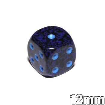 12mm Speckled Cobalt d6