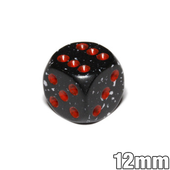 12mm Speckled Space d6