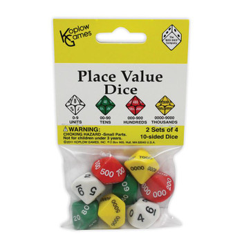 Place Value dice