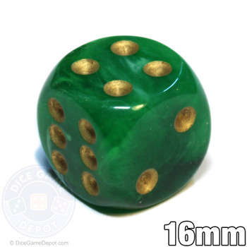 Vortex Dice - Green d6