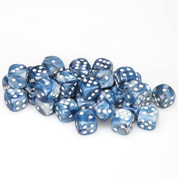12mm Lustrous Slate dice - Set of 36
