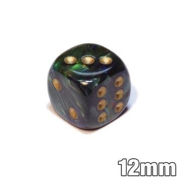 12mm Scarab Jade d6