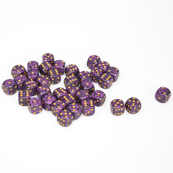 12mm Speckled Hurricane d6s - Set of 36