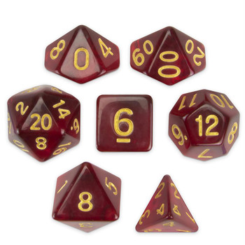 Blood Lust dice set