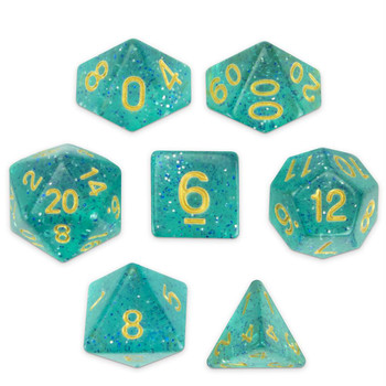 Celestial Sea dice set