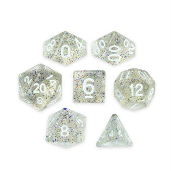 Sparkle Vomit dice set