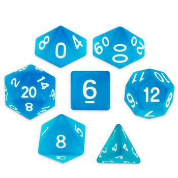 Sea Glass dice set