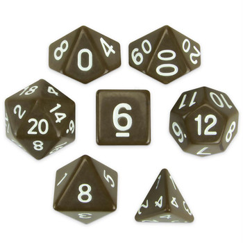 Enchanted Clay dice set
