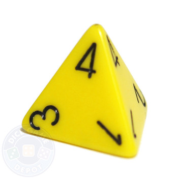 d4 - Opaque Yellow - Top-read