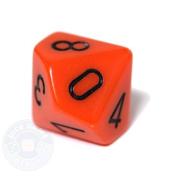 d10 - Opaque orange