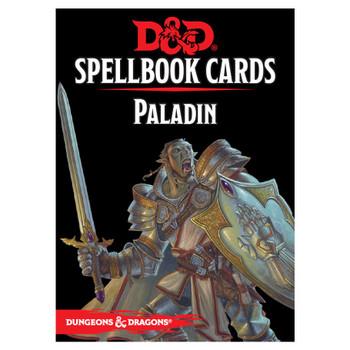 D&D Spellbook Cards - Paladin