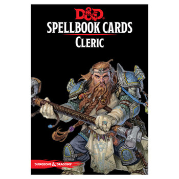 D&D Cleric Spellbook Cards