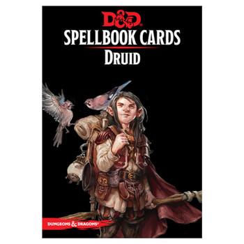 D&D Druid Spellbook Cards