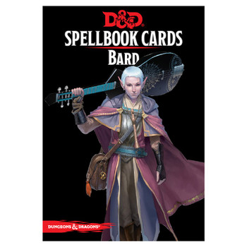 D&D Bard Spellbook Cards