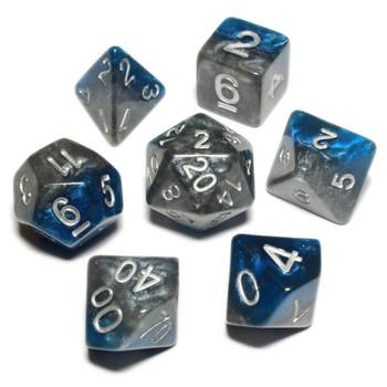 7-piece Halfsies dice set - DnD dice - The Heir