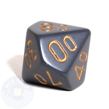 d10 percentile tens dice - Dark Gray