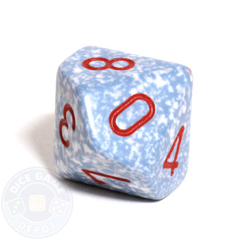 d10 dice - Speckled Air