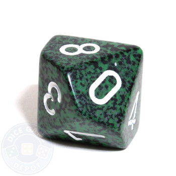 d10 dice - Speckled Recon