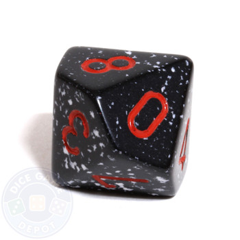 d10 dice - Speckled Space