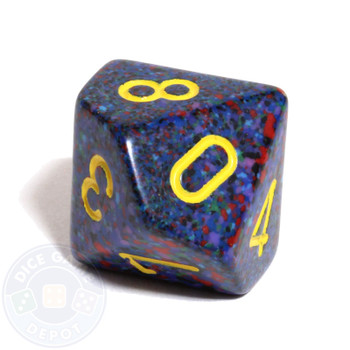 d10 dice - Speckled Twilight