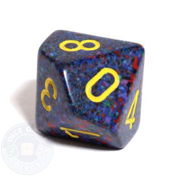 d10 dice - Speckled Twilight