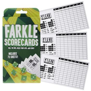 Farkle scorecards