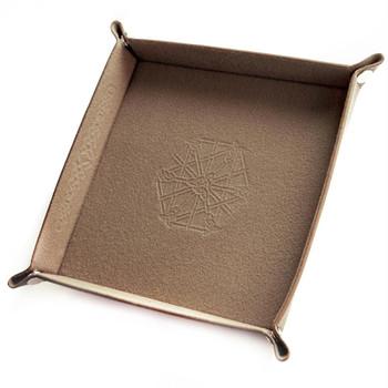 Folding dice tray