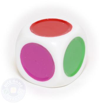 Single spot dice