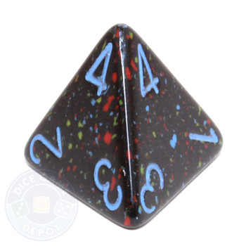 d4 - Speckled Blue Stars