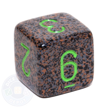 d6 - Speckled Earth dice
