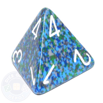 d4 - Speckled Sea dice
