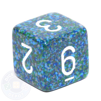 d6 - Speckled Sea dice