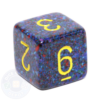d6 - Speckled Twilight dice