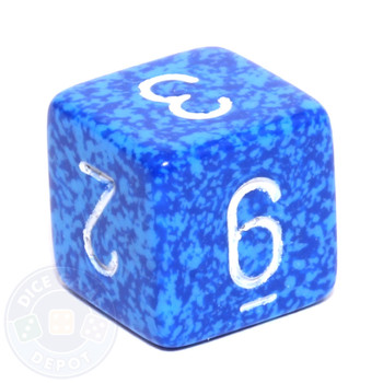 d6 - Speckled Water dice