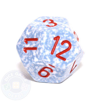d12 - Speckled Air 12-sided Dice