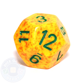 d12 - Speckled Lotus 12-sided Dice
