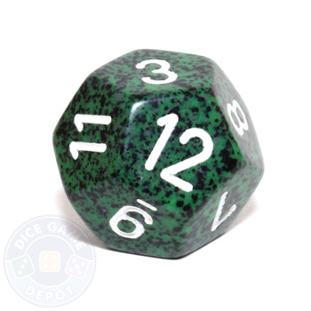 d12 - Speckled Recon 12-sided Dice